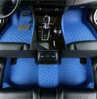 Fit Cadillac Escalade Fromt hinten Luxus Teppiche Individuelle wasserdichte Auto-Fußmatten 2007-2010 7 Sitze