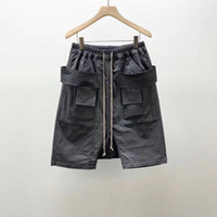 Owen Seak Men Casual Short Harem Gothic Style Men' s Clo...