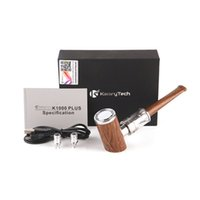 KAMRY K1000 Inoltre E Tubo Kit 1000mAh 30w 4mL Svuotare Vape Pen cartucce legno starter kit design vapore VS mini kit di tabacco da pipa