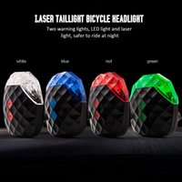 Laser stop lambaları dağ bisikleti bisiklet ekipmanları TXTB1 bisiklet Starry paralel hat ikaz LED lambaları