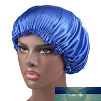 Katı Renk Ipek Saten Gece Şapka Kadın Kafa Kapak Uyku Kapaklar Bonnet Saç Bakımı Moda Aksesuarları Fabrika Fiyat Uzman Tasarım Kalitesi Son Tarzı Orijinal Durum