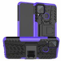 Gentil lujo exuberante de colorido clásico original etiqueta de plástico duro caso de TPU para Alcatel 2020 3L