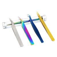 Yiowio Luxus 3 Arten Hohe Präzision Genauigkeit Wimpernverlängerung Lüfter Pinzette Klammern Klemmen Augen Make-up Wimpern Erweiterung Pfropfen Auto Fan Werkzeug