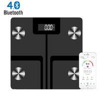 Body Fat Scale Smart BMI Scale LED Digital Wireless Weight B...