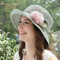 Sunhat Lady Summer Straw Hat Female Elegant Sunscreen Roll E...