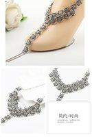 Bracelet de cheville à plage rond sandales pieds nus sandales vintage bijoux de pied des pieds anklets