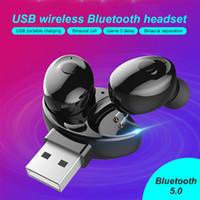 New XG12 XG13 XG15 XG17 TWS Mini sem fio Bluetooth 5.0 Earbuds Earphones Em Ear Stereo Headset Headphone com carregamento Box para SmartPhone
