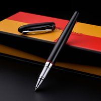 Pimio 907 Montmartre Luxury Smooth Black and Red Signing Roller Ball Pen with 0.7mm Black Ink Refill Pens with Original Gift Box