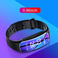 Relógio inteligente de voz pulseira ativar Gravador de Voz Digital 8GB 16GB 32GB MP3 Music Player Wearable inteligente pulseira Dictaphone caneta