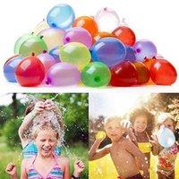 111 adet Yaz Sihirli Renkli Su Dolu Balon Çocuk Plaj Parti Açık Oyuncak Su Bomba Balon Çocuk Yenilik Gag oyunu