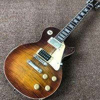 Tienda personalizada Guitarra eléctrica estándar, LED Zeppelin Jimmy Página 7 #, versión limitada.Mahogany Body.Rosewood Fingerboard