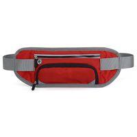 Venda quente Sports Waistbag Garrafa de água Saco Correndo cintura sacos Reflective Stripe cinto Packs aptidão Telefone Pouch