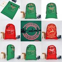 حيوانات الرنة القطب الشمالي الرباط حقيبة الحقيبة الثقيلة سانتا أكياس ميلاد سعيد زينة عيد الميلاد الحلي 2020 وجبة خفيفة القطن هدية 11 9by C2