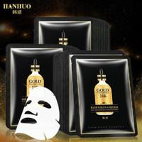 Visage visage visage visage masque visage soin de la peau masque masquera noir 24k or essence eau reconstituant masque de visage lumineux masque hydratant