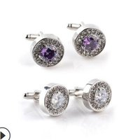 jewelry cuff links cuff crystal French cloth for wedding circle cuff hot fashion free of shipping