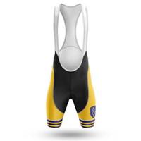 Abbigliamento per moto 2021 Laieschdan Pro Team Cycling Bib Shorts Ghen Yellow Pant per lungo tempo Bicycle Bottom Ropa Ciclismo Pantaloni da bici