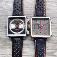 2020 neue 14 farbe monaco 24 kaliber 39 Tag männer watch square quarz design populäre caw sportuhr armbanduhr 666 jfcj #