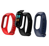 M3 Smart-Band Blutdruck Fitness Tracker Pedometer Herzfrequenzmesser Smart-Armband-Armband für iOS Android DHL
