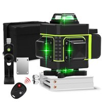 Transporte rápido verde nível laser de feixe 16 linhas 4D linha verde 360 horizontal e nível Laser Poderosa Vertical Super Autonivelante Nível Laser