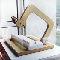 새로운 전문 손으로 만든 콜드 비누 커터 DIY 비누 스틸 와이어 커팅 머신