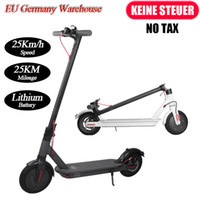 Manchete Fiscal Grátis UE Stock Mini Dobrável Scooter Elétrico 8.5inch Forte Power Bicycle Scooter 7.8ah 250W com App Comute MK083