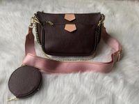 Женская сумка сумочка оригинальная коробка кошелька плечевой мешок мешок Multi Pocchette ручной сумка дата код