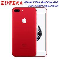 "Apple iPhone 7 Plus مقفلة الهاتف المحمول الأصلي 4G 5.5 ""ثنائي النواة A10 12MP رام 3 جيجابايت ROM 128GB الهاتف الخليوي NFC"