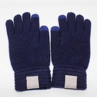 Unisexe épaississant les gants de doigt de ski d'hiver gants de ski sport gants à écran tactile chaud pour homme femmes 4 couleurs DHL