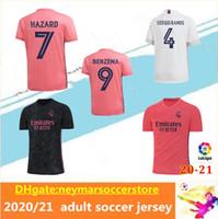 20 21 Real Madrid Soccer Jersey Home Away Terceiro Perigo Asensio Isco Marcelo 20 21 Real Madrid Camiseta Camisa de Futebol Fardos Tamanho S-2XL