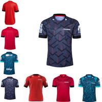 2020 21 Cruzados para adultos Home Away Super Rugby Jersey Camisa de entrenamiento Maillot Camiseta Magly Tops S-5XL