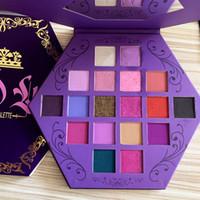 Maquillage Blood Lust palette ombres à paupières 18 couleurs et Shimmer Matte fard à paupières cosmétiques Artistry fard à paupières Puple Palette DHL gratuit