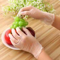 Trabalhos domésticos UNISEX descartável Limpeza Mecânica Luvas de Nitrilo Protetoras Impermeáveis Luvas de Limpeza de Casa Ferramenta DHC1781