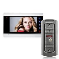ビデオドア携帯電話ホーム電話インターホンドアベルセキュリティシステムスピーカーコールパネル+ 7インチモニター+ 1200TVLカメラ+ 32g SDカード