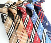 الرجال العصرية في التعادل 18 لون مطابقة خليط Sulange منقوشة المشارب جوكر الكمال أسلوب الحد الأدنى التعادل الأعمال أزياء