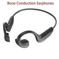 Bluetooth 5.0 Bone Conduction Headphones Wireless Sports Air Conduction Headset اللاسلكي Handsfree Hassets Stereo Bass سماعات