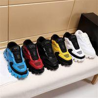 Повседневная обувь 19FW нового Capsule серия Камуфляж Черного стилист обувь Lates P Cloudbust Thunder зашнуровать кроссовки Rubber Low Top платформа обувь