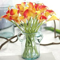 Fiori decorativi Corone Artificiale Mini Calla Lily Party Wedding Party Decorazione per ufficio