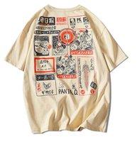 Camiseta Homens T-shirt Moda Comic gráfico Imprimir Rodada Neck New Arrival Mulheres Verão Tees Tops Hot Sale Camisas Casual M-5XL
