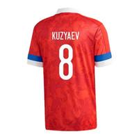 لاعب نسخة 2020 الأوروبية روسيا الرئيسية كرة القدم الفانيلة 2020 المنتخب الوطني Akhmetov Dzyuba Golovin Soccer Shirt Smolov Yusupov