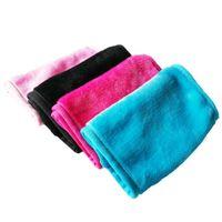 Frauen weiche wiederverwendbare Gesichtsreinigung Mikrofaser Handtuch Make-up entfernen Pad Tuch Gesicht Handtücher Schönheit Werkzeuge