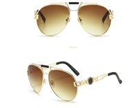 Beliebte Frauen Mode Sonnenbrille Square Sommer Stil Full Frame Top Qualität UV-Schutz 0083s Sonnenbrille Mischfarbe Kommen Sie mit Kiste