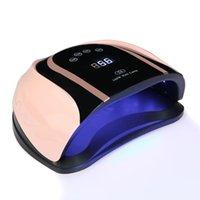Séchoirs à ongles EST 54 LED UV Lampe Sèche-linge 160W pour tous les gels polissage avec la minuterie de lumière du soleil 10/30 / 60 / 99S Smart Auto Capteur