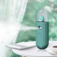 ELOOLE USB المحمولة تعبئة المياه متر إتهام اليد مرطب 250 ماه البطارية نانو ميست الذكية التوقيت للخارج والسيارات