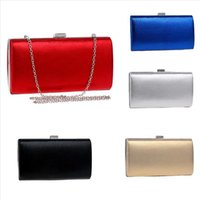 Women Evening Clutch Bag Flock hasp Messeng bag Female Wedding Clutches crossbody Purse Party Banquet Black Red bag