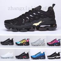Air VaporMax Tn plus  кроссовки для мужчин Женщины Royal Smokey Mauve String Colorways Оливковые в металлическом дизайнере Тройное белое черное тренеров спортивные кроссовки