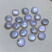 Großhandel Art und Weise natürlichen Süßwasser-Perle Anhänger Halskette Kette DIY Herstellung Schmuck liefert Halskette Zubehör