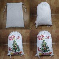 Blank Sack Christmas Kids Santa Sublimation Personalized Bags Gift Gift Christmas Sea Festival Bag Candy Decorations CYZ2805 Bag Shippi Jarm
