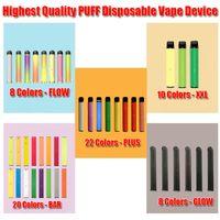 SOUFFLE dispositif à usage unique Vape Pen Pod Bar Batterie de démarrage du kit 1500 Puff cartouche 1,4 ml avec code de sécurité Autocollant XXL
