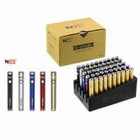 YOCAN B-Smart Battery 320mAh Slim Twist Preheat VV Bottom Tensione regolabile E CIG 510 VAPE PEN DHL FREE