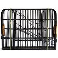 Alta Qualidade Atacado baratos Melhor Grande interior do metal Puppy Dog Run Fence / Ferro Pet Dog Playpen W24101525